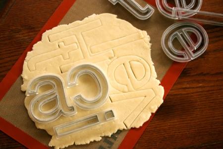 Helvetica Cookies