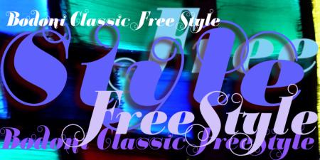 Bodoni Classic Free Style