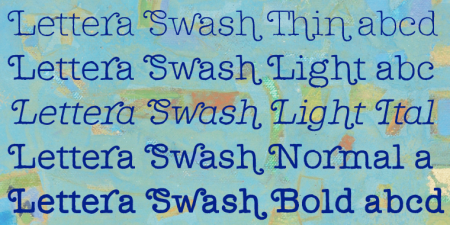 Lettera Swash