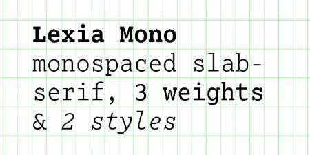 Lexia Mono3