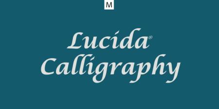 Lucida Calligraphy1