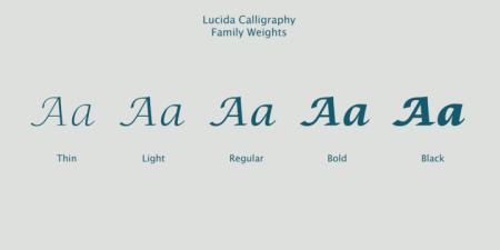 Lucida Calligraphy3
