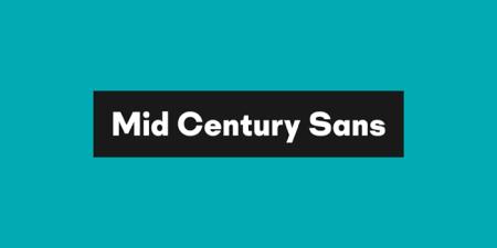 MidCenturySans1